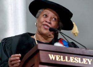 Toni Morrison, Professor Emeritus at Princeton University