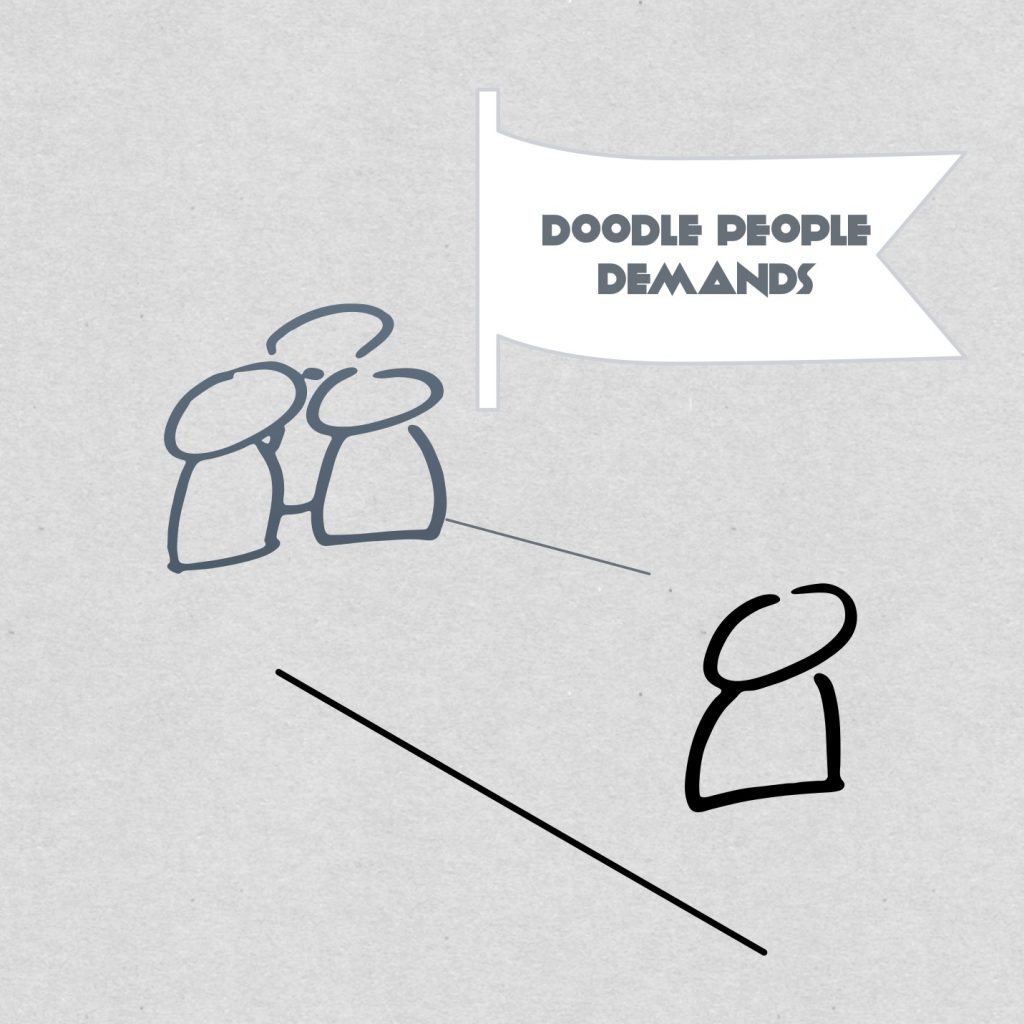 "Doodles demand we work on them to figure them out. Luckily, we are hard-wired to ""lean in"" to doodles."